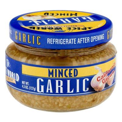 Spice World Garlic Minced