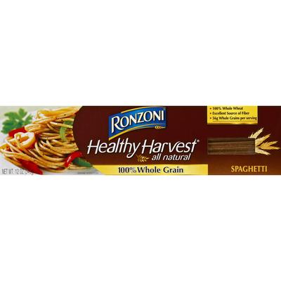 Ronzoni Spaghetti, 100% Whole Grain