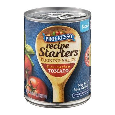 Progresso Recipe Starts Fire Roasted Tomato Cooking Sauce