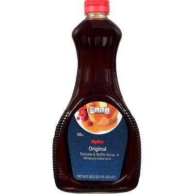 Hy-Vee Pancake & Waffle Syrup, Original