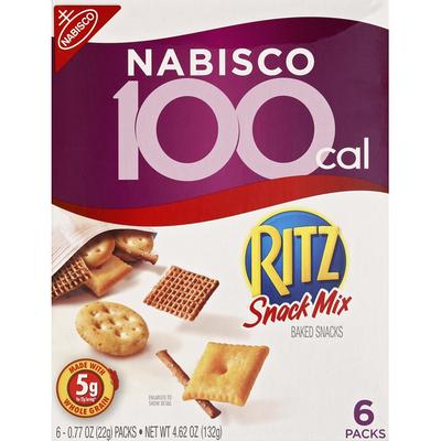 RITZ Ritz Snack Mix 0.77 oz Packs Baked Snacks