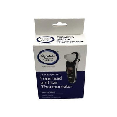 Signature Care Thermometer, Forehead and Ear
