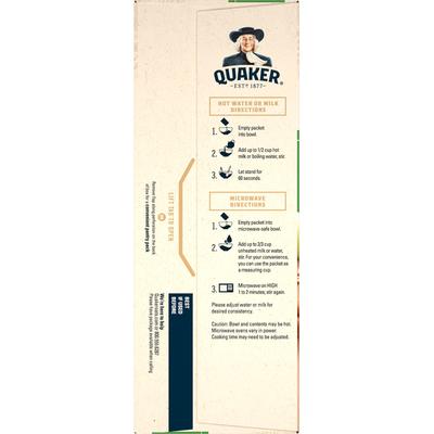 Quaker Apple & Cinnamon Instant Oatmeal
