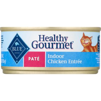 Blue Buffalo Cat Food, Indoor Chicken Entree, Pate