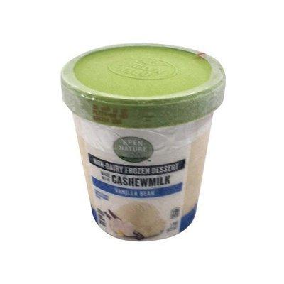 Open Nature Vanilla Bean Flavored Plant Based Cashew Non-dairy Frozen Dessert