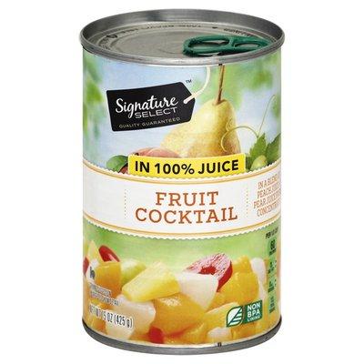 Signature Kitchens Fruit Cocktail, in 100% Juice