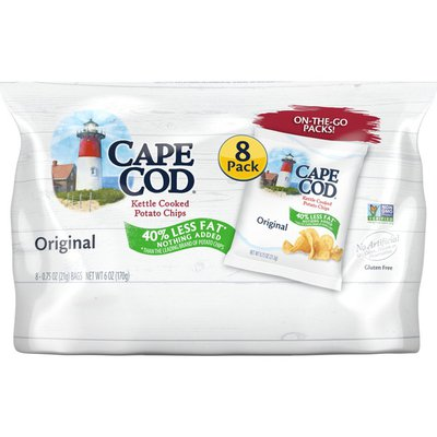 Cape Cod® Less Fat Original Kettle Cooked Chips