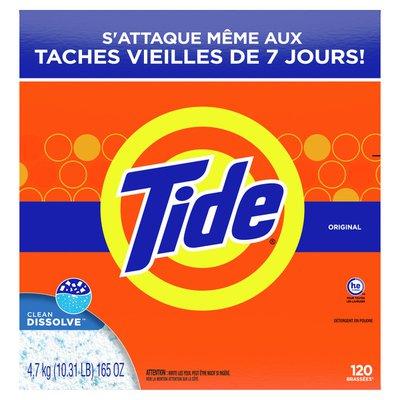 Tide Powder Laundry Detergent, Original Scent