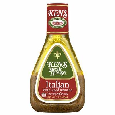 Ken's Steak House Dressing & Marinade, Italian with Aged Romano