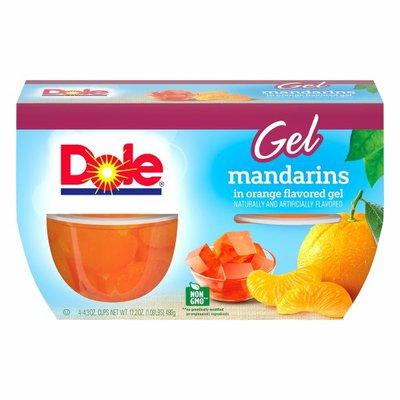 Dole Gel Mandarins in Orange Flavored Gel
