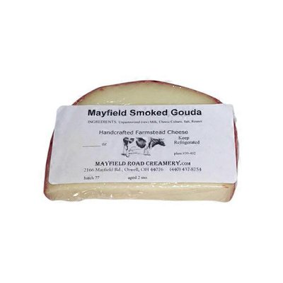 Mayfield Road Creamery Smoked Gouda Cheese