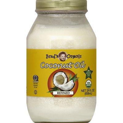 Brads Organic Coconut Oil, Refined