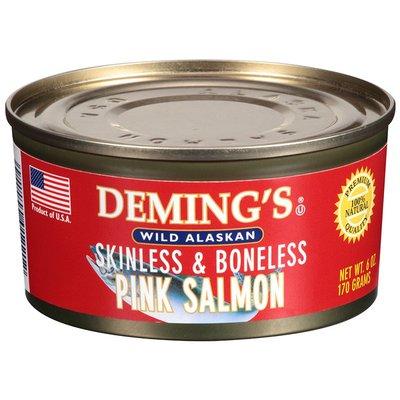 Deming's Pink Skinless & Boneless Wild Alaskan Salmon