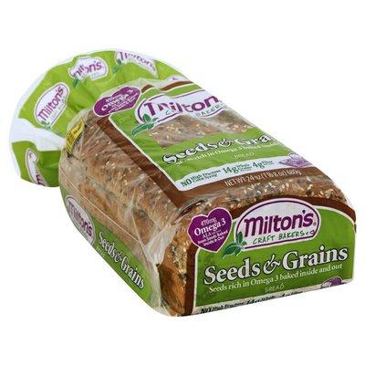 Miltons Bread, Seeds & Grains