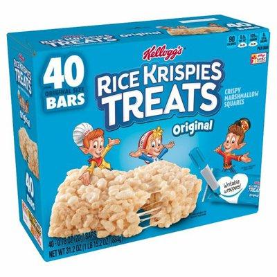 Rice Krispies Treats Marshmallow Snack Bars, Original, Kids Snacks