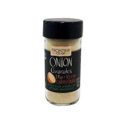 Frontier Co-Op Herb Organic White Onion Powder Seasoning in Bottle