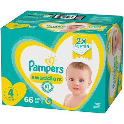 Pampers Swaddlers Active Baby Diaper Size 4