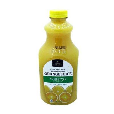 Signature Kitchens Valencia Orange Juice With Pulp