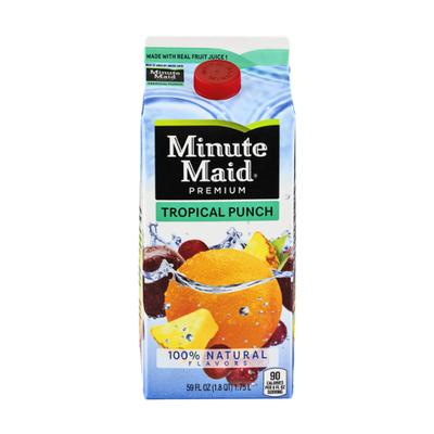 Minute Maid Tropical Punch Carton