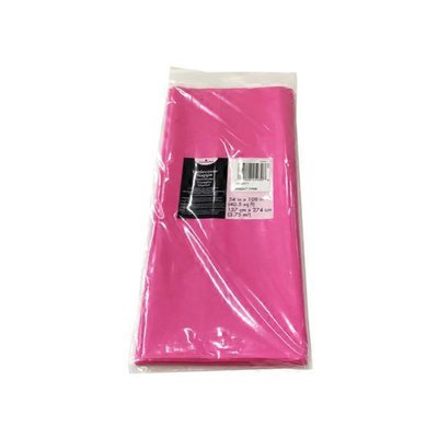American Greetings Bright Pink Plastic Table Cover