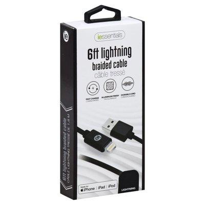 I Essentials Cable, Braided, 6 Feet Lightning