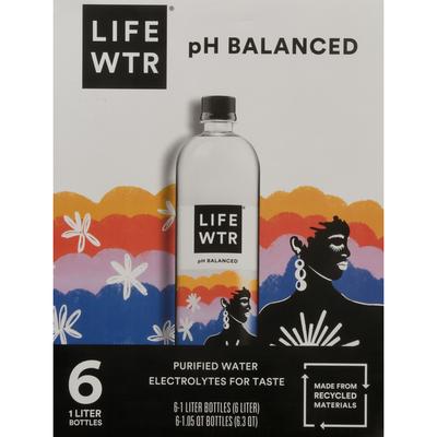 Life Wtr Purified Water, pH Balanced