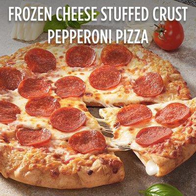 DiGiorno Pepperoni Frozen Pizza on a Stuffed Crust