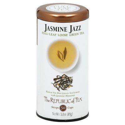 The Republic of Tea Green Tea, Full-Leaf Loose, Jasmine Jazz