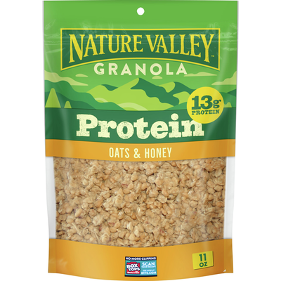 Nature Valley Granola, Protein, Oats and Honey