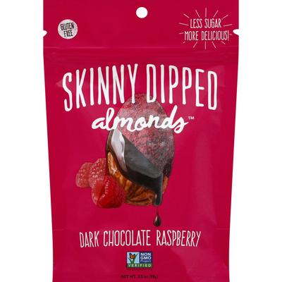 Skinny Dipped Almonds Almonds, Dark Chocolate Raspberry