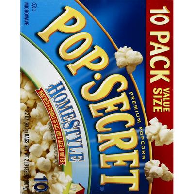 Pop Secret Microwave Popcorn, Premium, Homestyle, Value Size