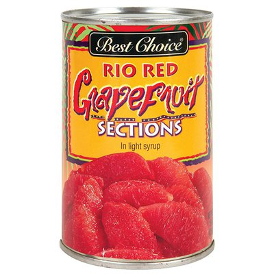 Best Choice Red Grapefruit Sections