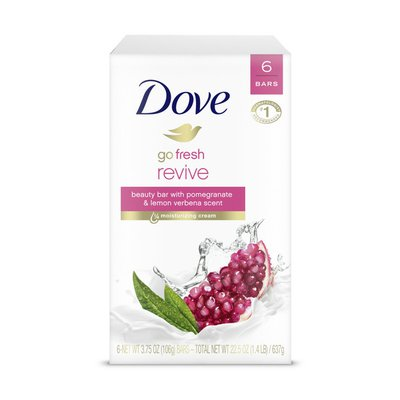 Dove Beauty Bar Pomegranate And Lemon Verbena