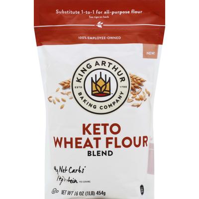 King Arthur Baking Wheat Flour Blend, Keto