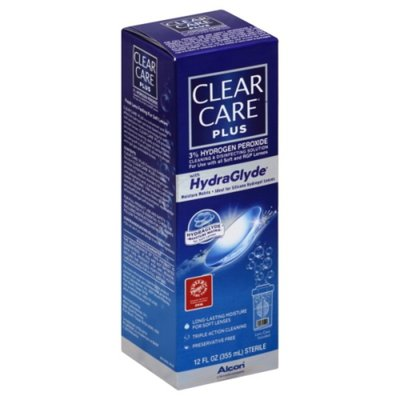 CLEAR CARE Plus With HydraGlyde Cleaning & Disinfecting Solution