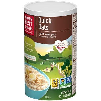 Mom's Best Cereals Cereals Quick Oats