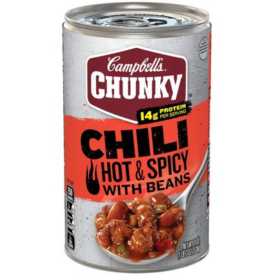 Campbell's® Chunky® Hot & Spicy Beef & Bean Firehouse Chili
