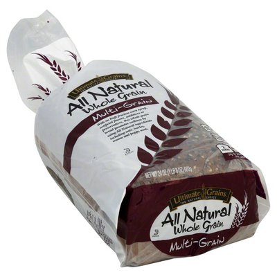 Ultimate Grains Bread, All Natural, Whole Grain, Multi-Grain