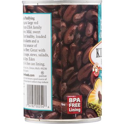 Eden Foods Kidney Beans, No Salt Added