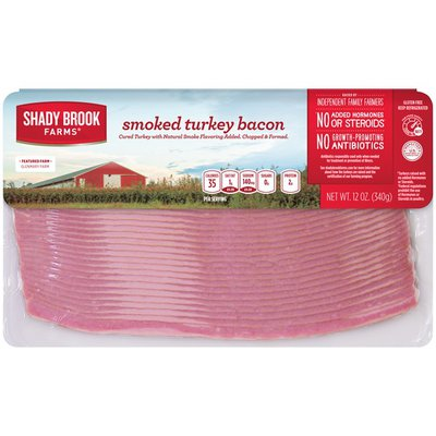 Shady Brook Farms Smoked Turkey Bacon