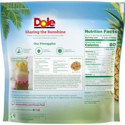 Dole Gold Tropical Pineapple Chunks