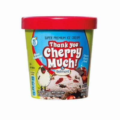 Belmont Thank You Cherry Much Premium Ice Cream
