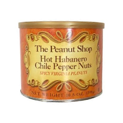 The Peanut Shop Hot Habanero Chile Pepper Nuts