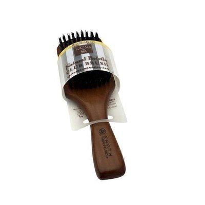 Earth Therapeutics Natural Bristle Club Men's Brush