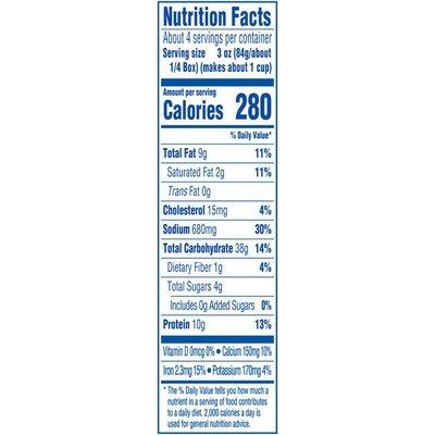 Kraft White Cheddar & Garlic & Herbs Macaroni & Cheese Dinner
