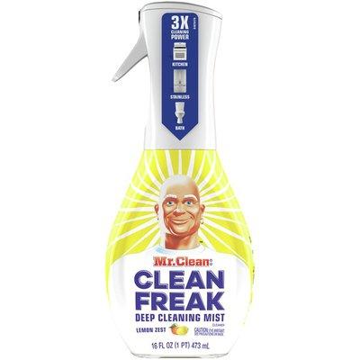 Mr. Clean Deep Cleaning Mist Multi-Surface Spray, Lemon Zest Scent