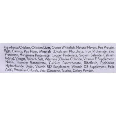 Freshpet Moisture Rich Tender Bites Cat Food Tender Chicken with Garden Vegetables