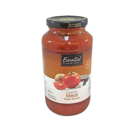Essential EVERYDAY MEAT FLAVORED Pasta Sauce