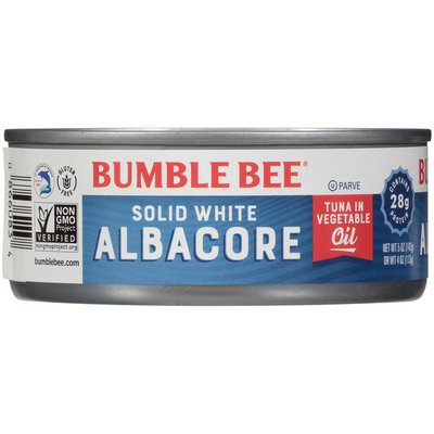Bumble Bee Solid White Albacore Tuna in Vegetable Oil