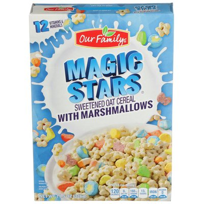 Our Family Magic Stars With Marshmallows Cereal